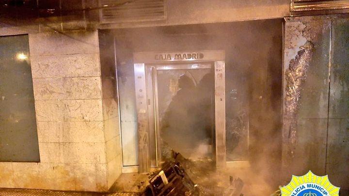 La Policía de Alcorcón investiga los dos incendios de esta madrugada