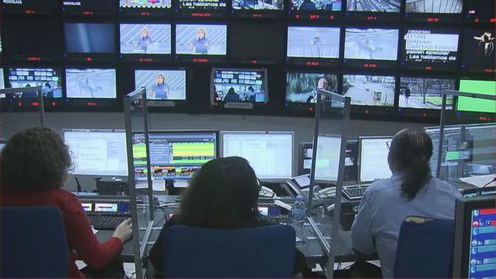 Así se hace un Telenoticias en Telemadrid