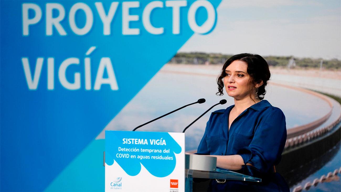 Proyecto Vigía en Madrid para la vigilancia temprana del Covid-19 en aguas residuales