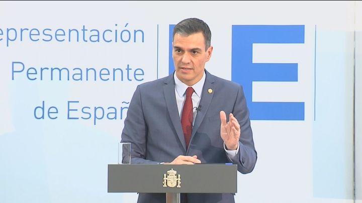 """Sánchez corrige a Ayuso y dice que Juan Carlos I """"tiene los mismos derechos y obligaciones"""" que el resto de ciudadanos"""