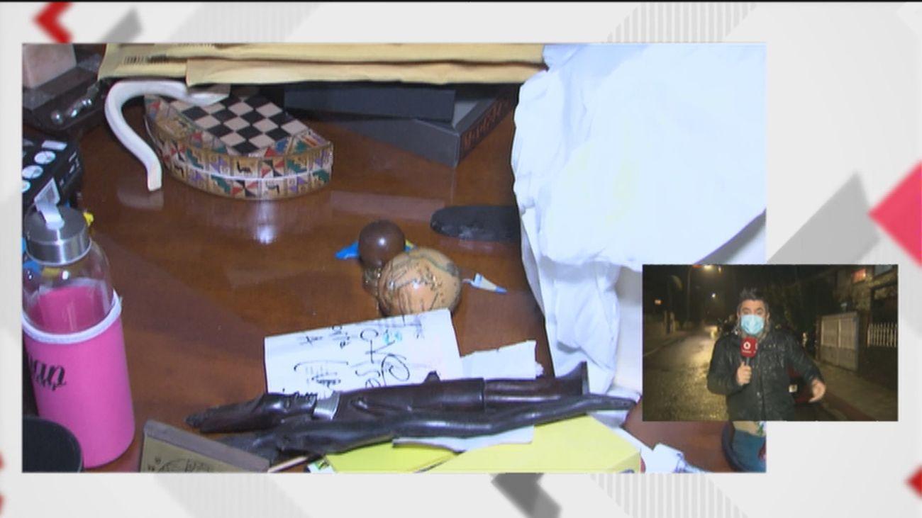 Los vecinos de la vivienda desalojada en Moralzarzal contratan alarmas y ponen barrotes contra los 'okupas'