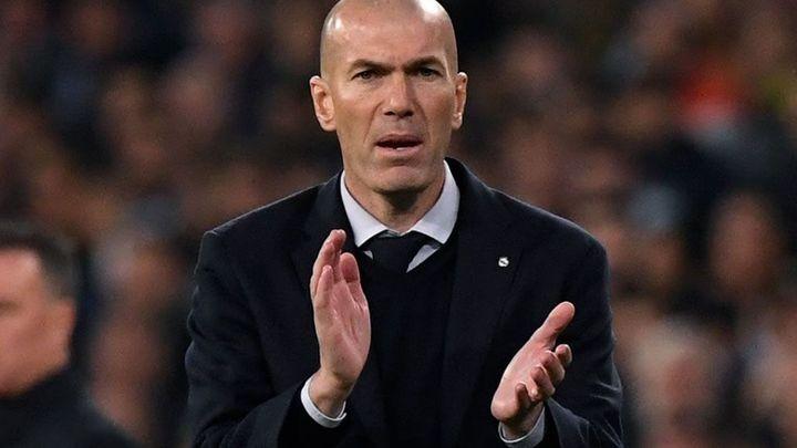 """Zidane: """"El derbi es una buena oportunidad para demostrar la mejoría que se vio en Champions"""""""
