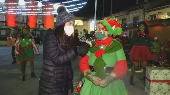 Las elfas de Algete que reparten ilusión en el municipio