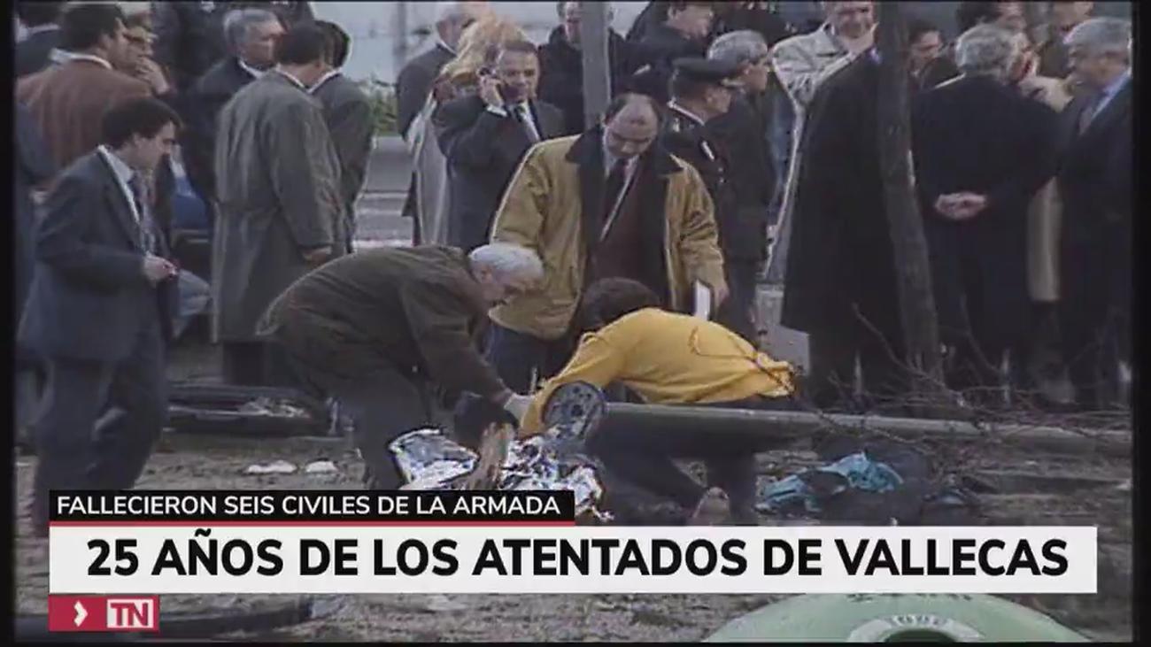 La Armada rinde homenaje 25 años después a los seis militares asesinados por ETA en el Puente de Vallecas