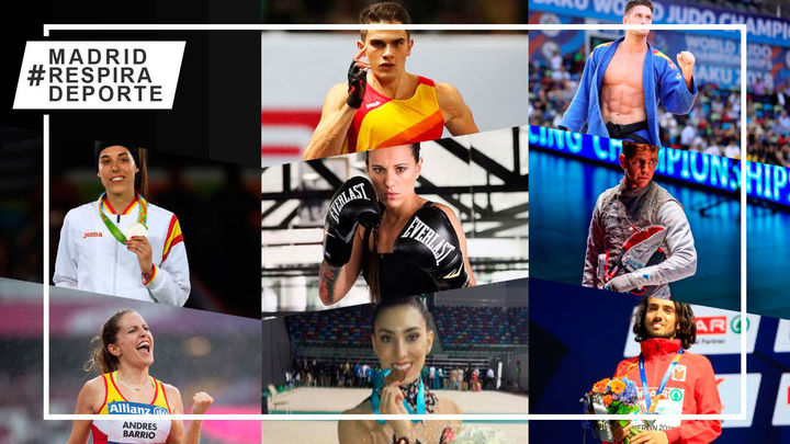 Figuras madrileñas del deporte que hay que seguir en 2021