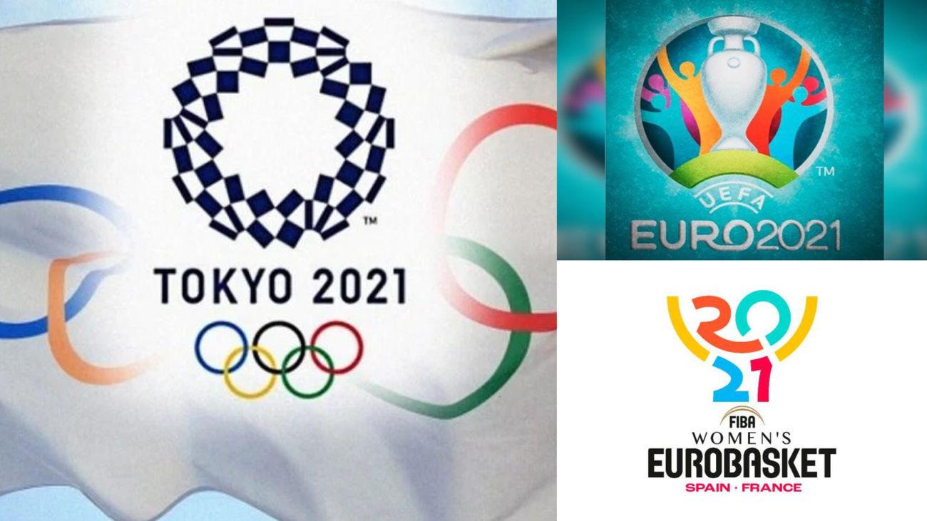 Un 2021 en el deporte con mucho pendiente: Juegos Olímpicos, Eurocopa,  Eurobasket...
