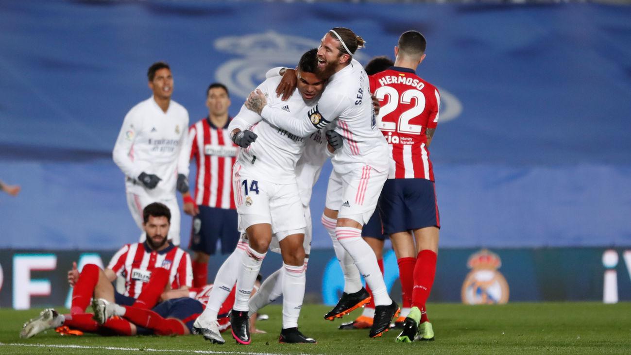 El Real Madrid somete al Atlético (2-0)