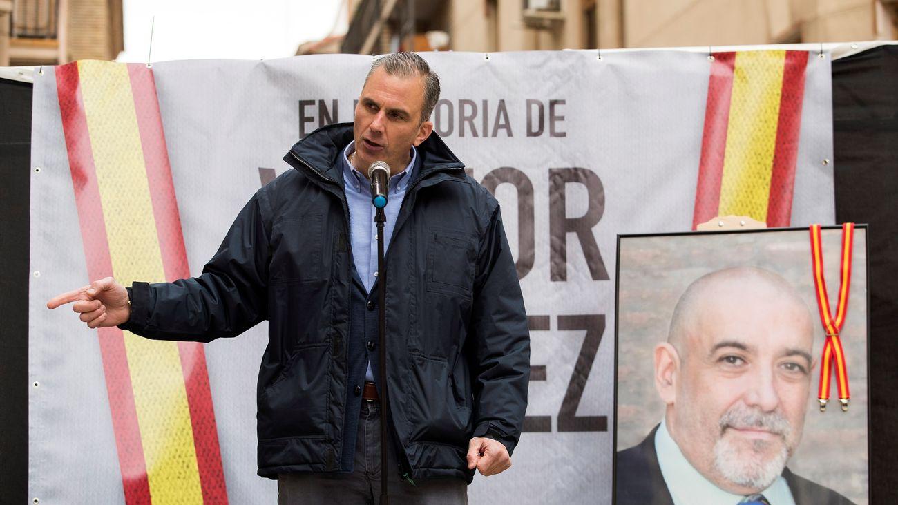 Ortega Smith: Ser español es una amenaza para quienes no creen en la libertad