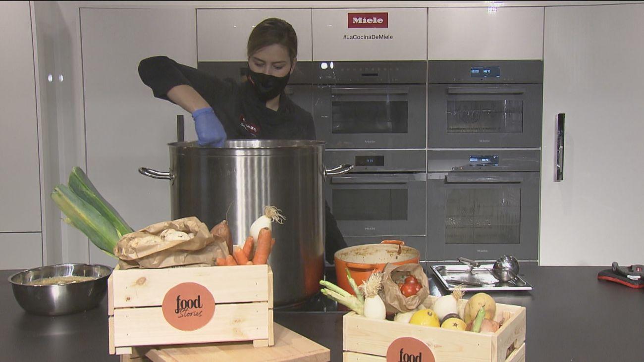 Cocina de aprovechamiento y solidaria para no tirar comida a la basura