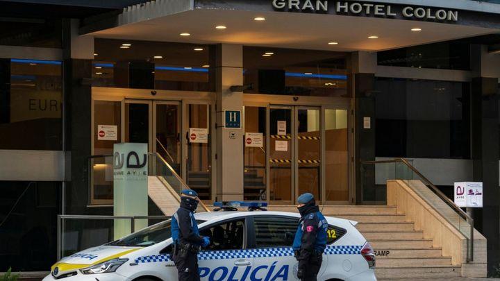 La Comunidad de Madrid deriva 392 pacientes Covid-19 al Hotel Ayre Gran Hotel Colón