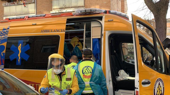 Ingresada con quemaduras graves una anciana  por el incendio de su cocina en un piso en Moncloa