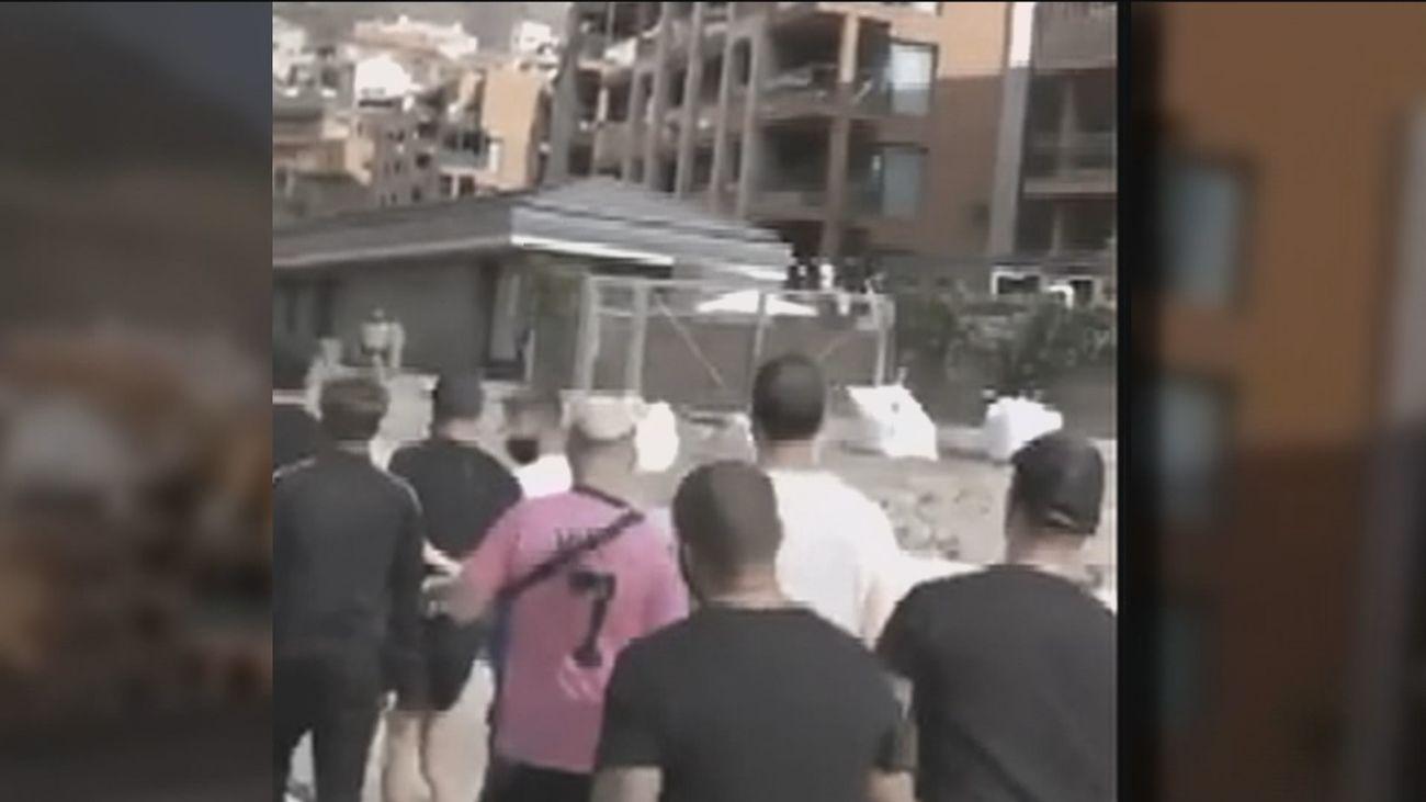 Mogán condena la marcha de los vecinos ante los inmigrantes