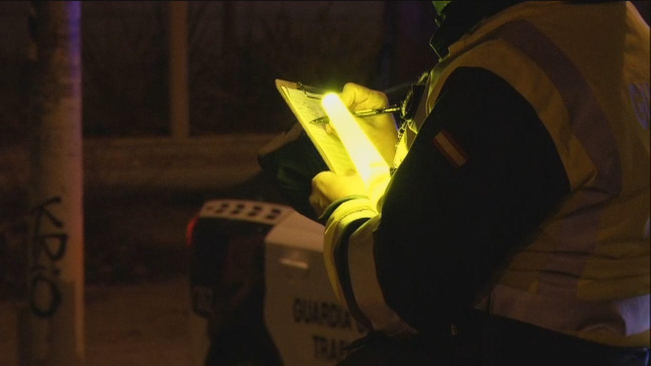 Macrocontrol de alcohol y drogas de la Guardia Civil en la A2