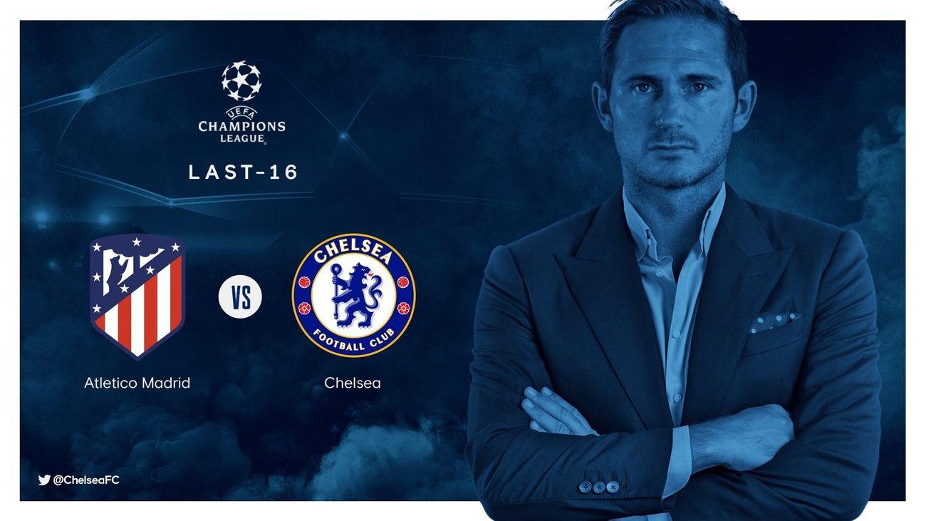 Así es el Chelsea, rival del Atleti en octavos de la Champions