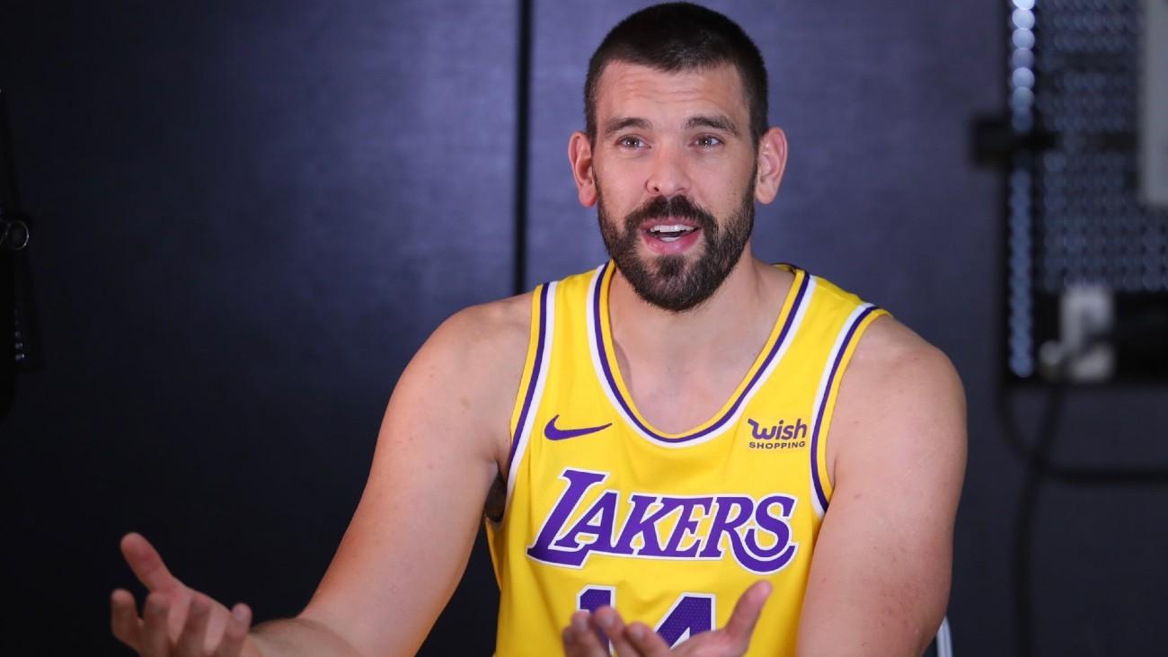 Marc Gasol buscará su segundo anillo en los míticos Lakers