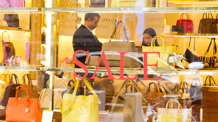 La venta de artículos de lujo se desploma un 23%