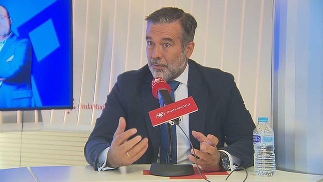 Enrique López, consejero de Justicia, Interior y Víctimas de la Comunidad de Madrid