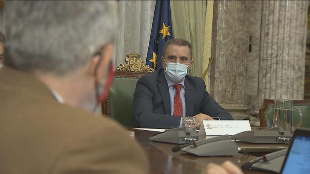 Franco pide trabajo conjunto a las Administraciones en la Cañada Real