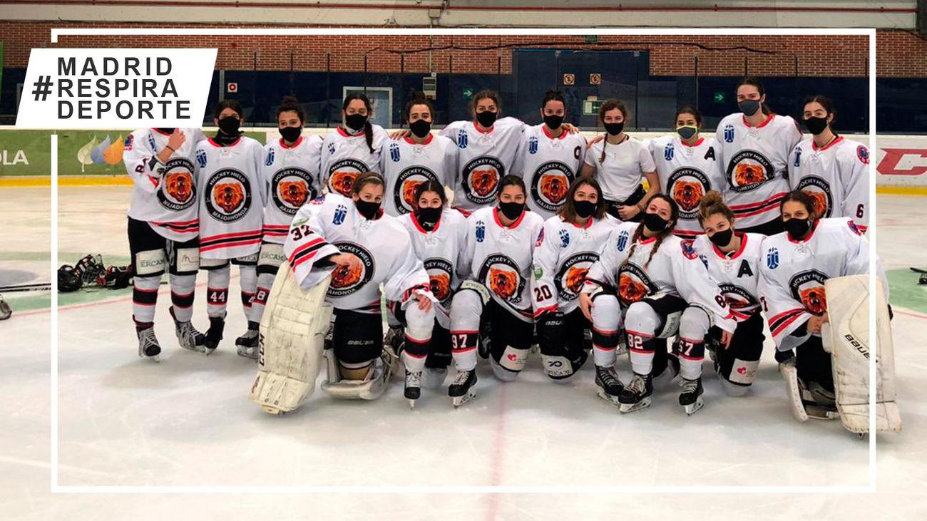 Hockey Majadahonda femenino, un líder intratable