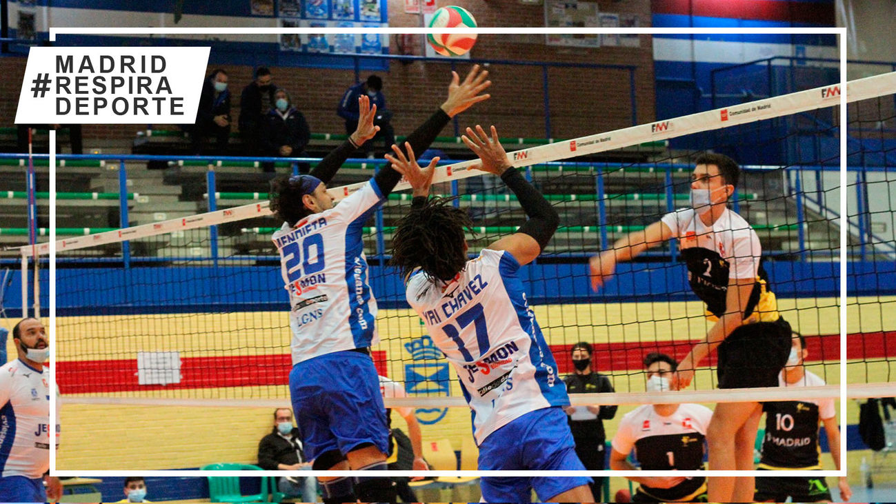 Voleibol Leganés vence al VP Madrid y se queda a un paso de la Copa