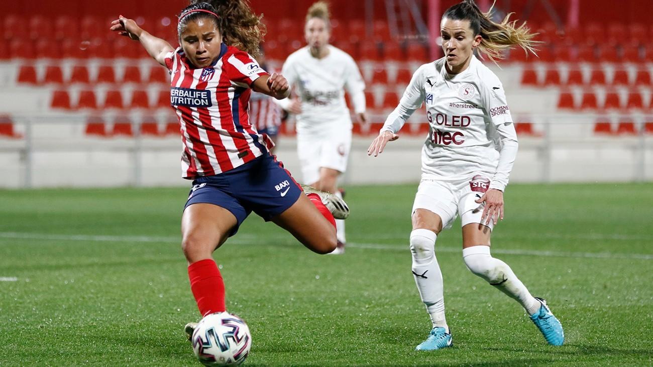 Atlético de Madrid-Servette