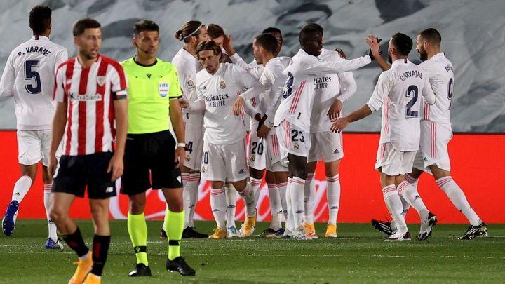 3-1. El Real Madrid ya es colíder tras derrotar al Athletic