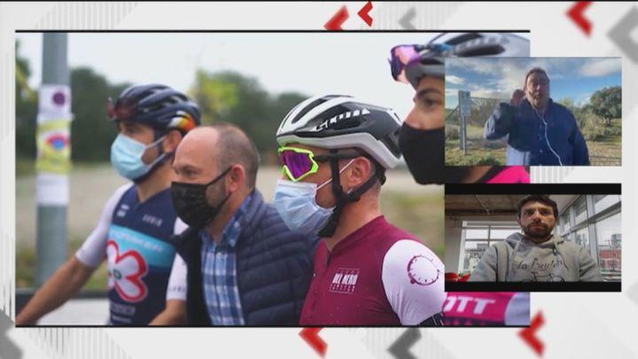 """El alcalde de Navas del Rey dice que """"quiere a los ciclistas"""" y que la prueba cancelada """"se celebrará el año que viene"""""""
