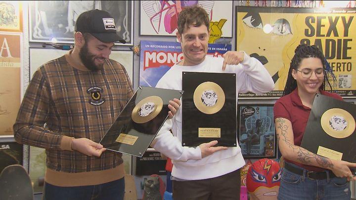 El grupo madrileño 'La La I Love You' logra el disco de oro con 'El fin del mundo'
