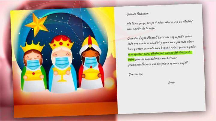 Más de 900 cartas recibidas en Telemadrid para los Reyes Magos