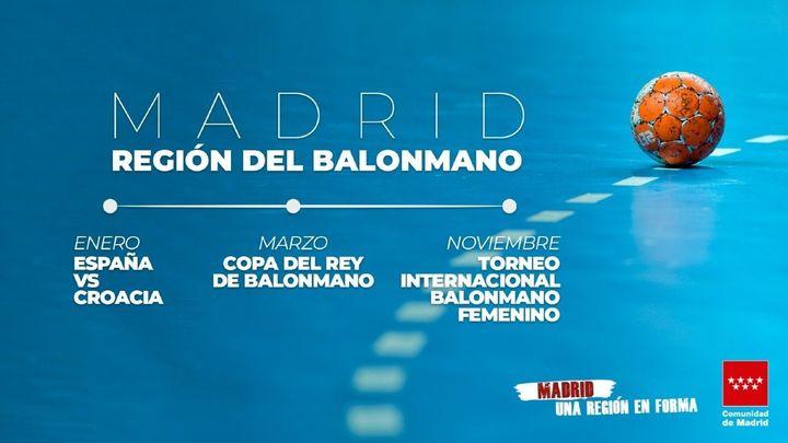 Madrid, epicentro del balonmano español en el 2021
