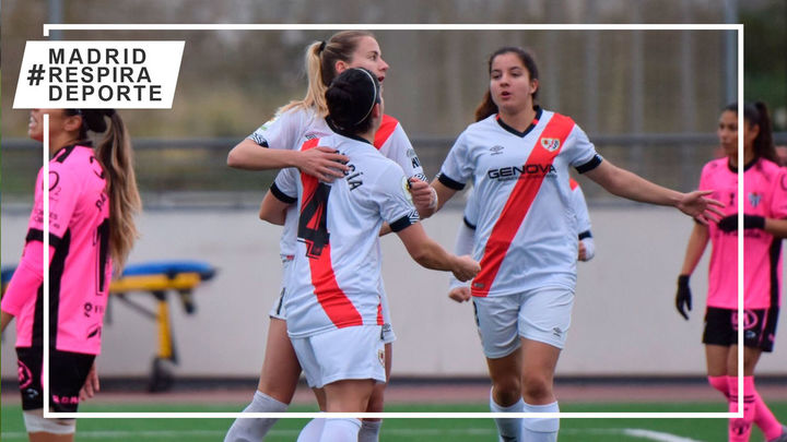 1-0. El Rayo femenino sale del descenso tras vencer al Sporting de Huelva