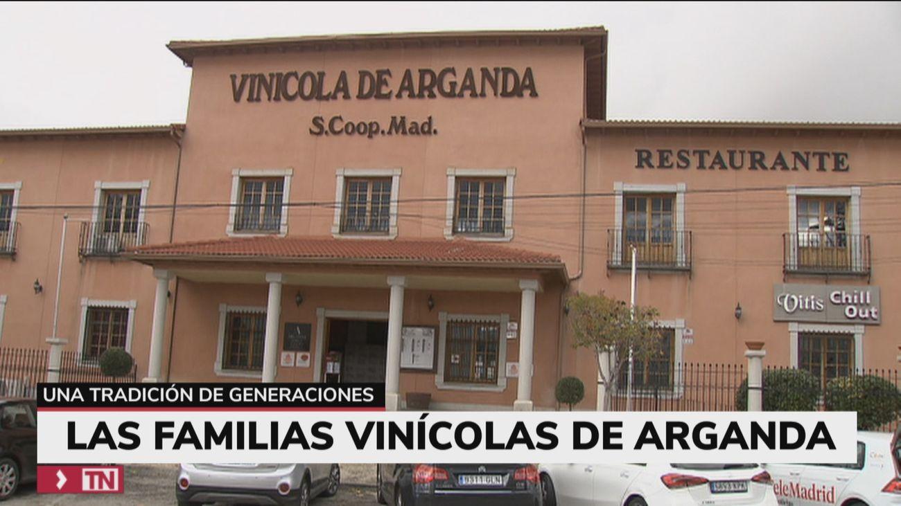 Pequeños viticultores que hacen posible los vinos de Arganda