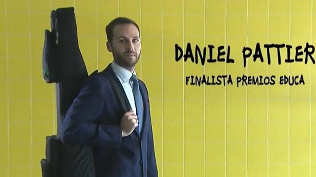 El profesor Daniel Pattier, candidato a mejor docente de España
