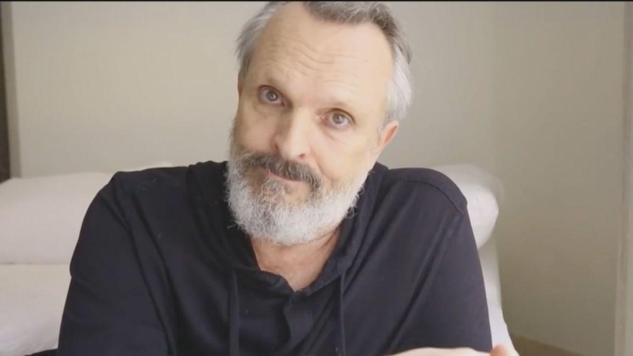 Miguel Bosé, personaje del año por sus polémicas intervenciones en la red