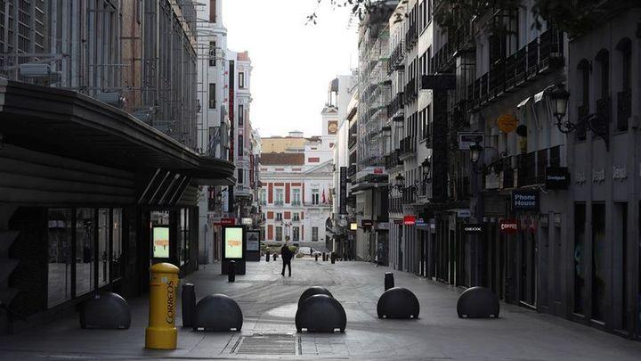 'Renaceres', la película que retrata el solitario Madrid de marzo