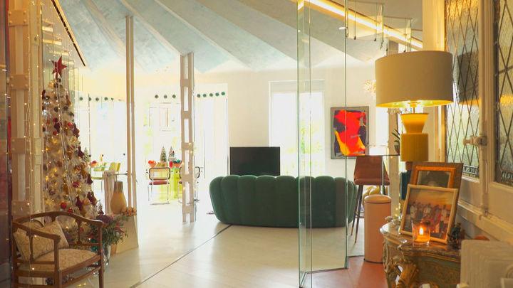 La casa de las paredes de cristal con vistas al parque El Retiro