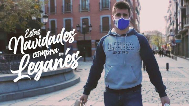El Leganés pone en marcha 'Compra en Leganés' en apoyo al pequeño comercio