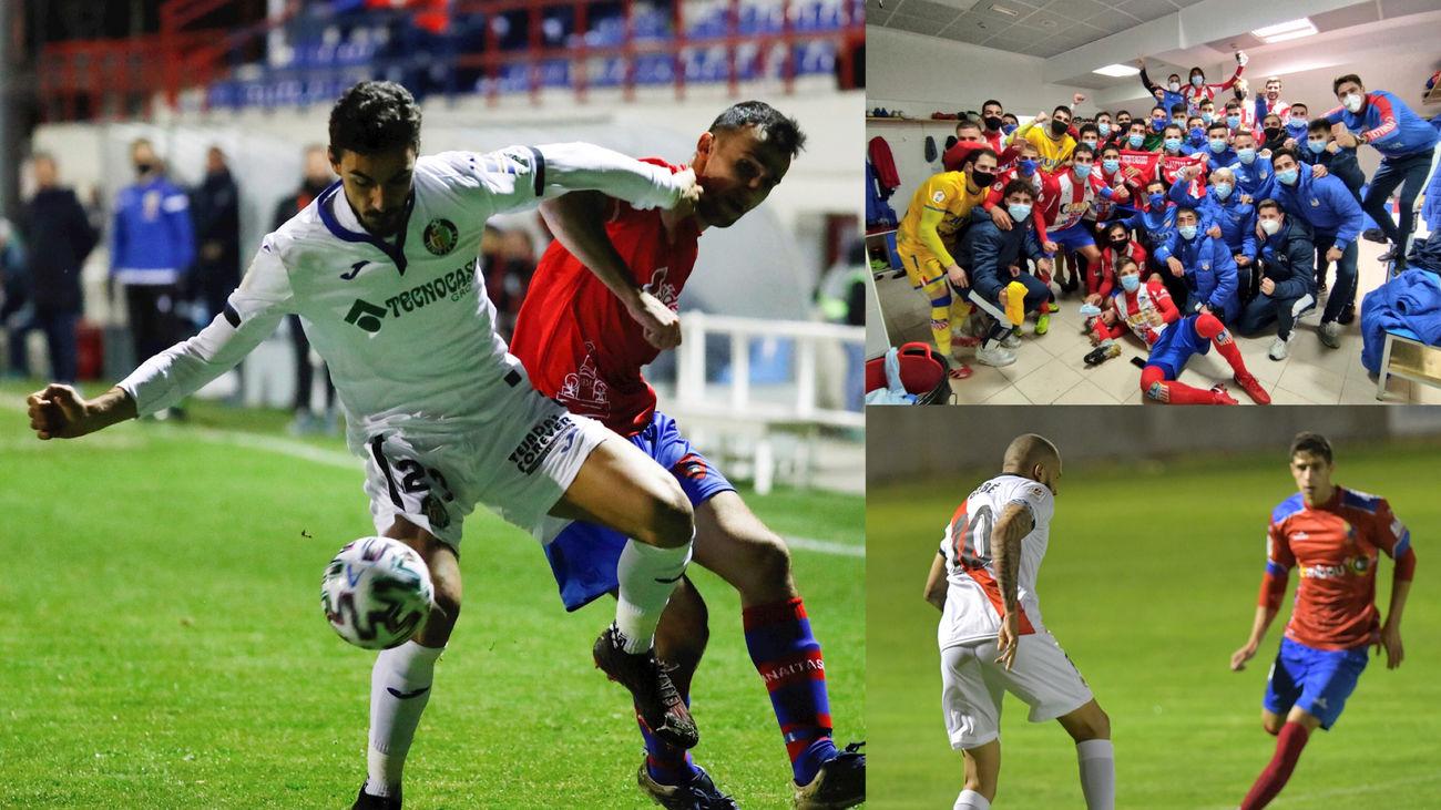 Getafe, Rayo y Navalcarnero en la Copa del Rey