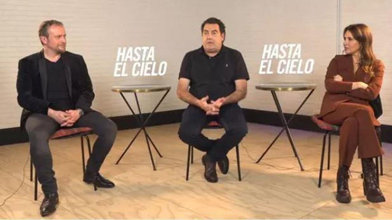 """Calparsoro presenta 'Hasta el cielo': """"El estreno simultáneo  en cines y streaming es incomprensible y desleal"""""""