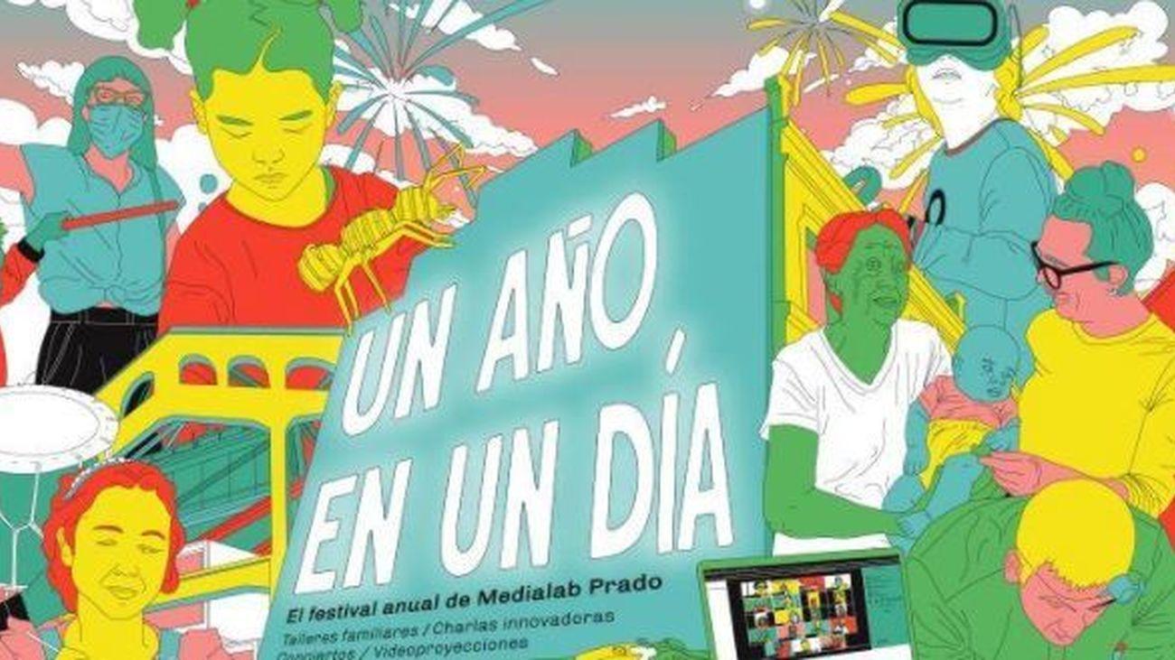 Moda sostenible, feminismo y yincana poética,  en el festival 'Un año en un día' de Medialab Prado