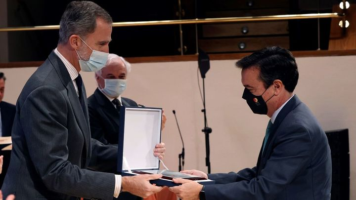 El rey Felipe VI pone en valor el papel ejemplar y solidario de las empresas españolas durante la pandemia