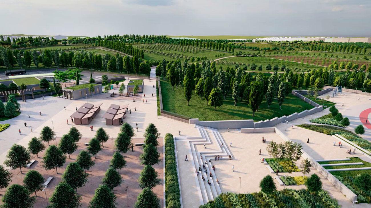 Luz verde al nuevo parque Central de Valdebebas, que abrirá en 2023