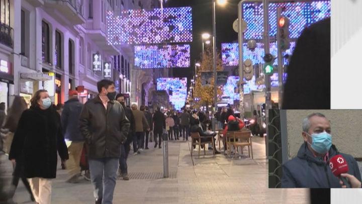 El PSOE de Madrid pide apagar las luces de Navidad del centro para evitar las aglomeraciones