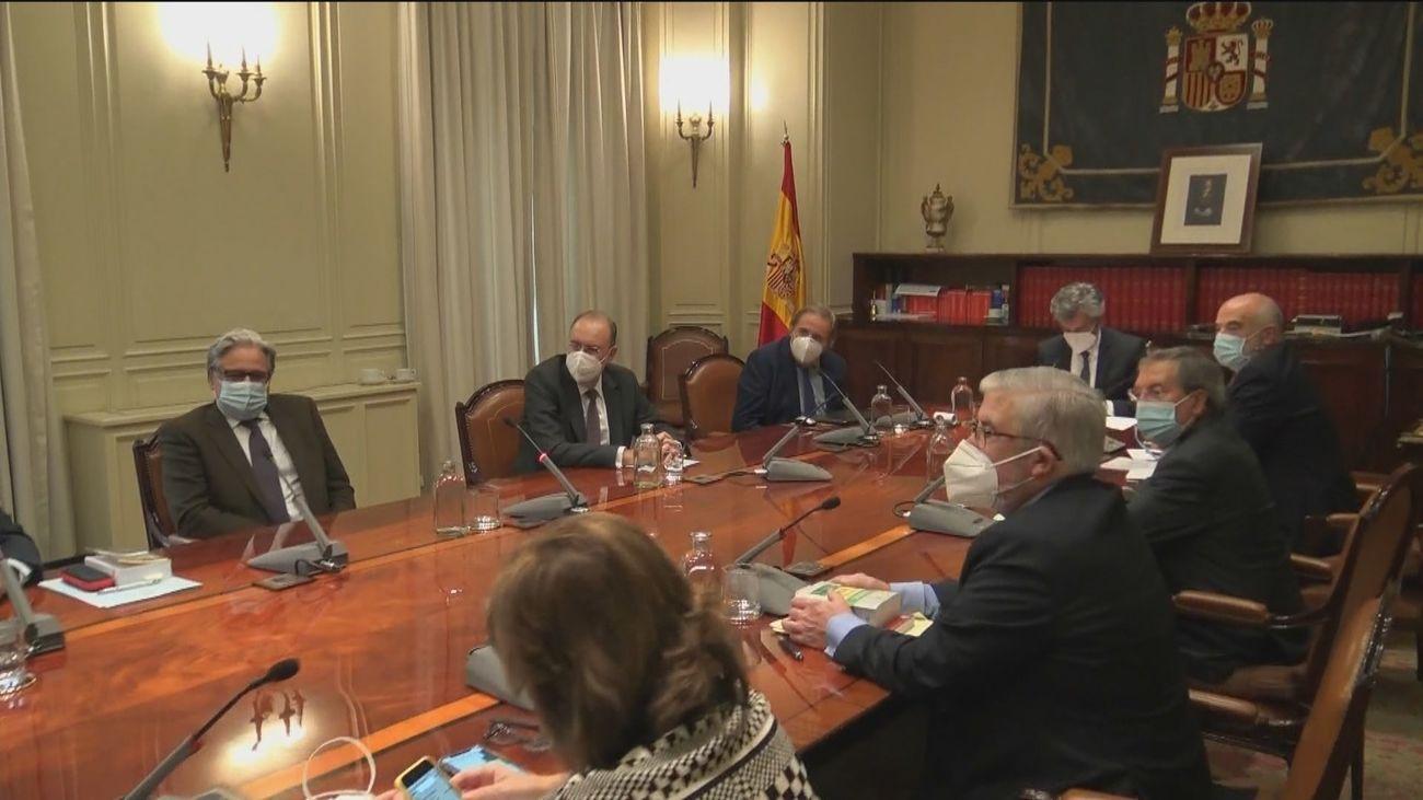 Reunión del Consejo del Poder Judicial