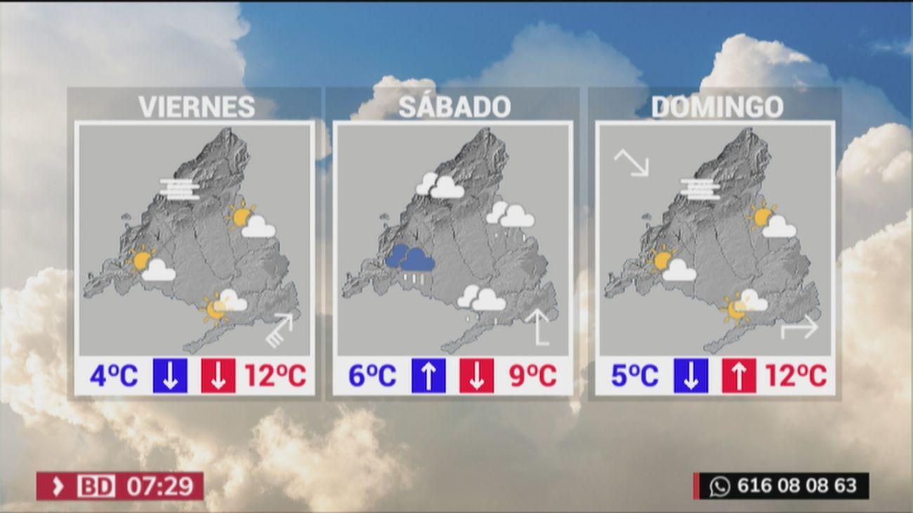 Más frío en Madrid a la espera de un sábado marcado por la lluvia