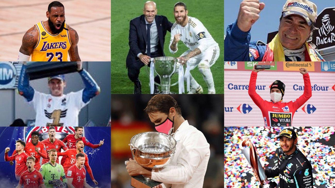 Los grandes campeones de 2020