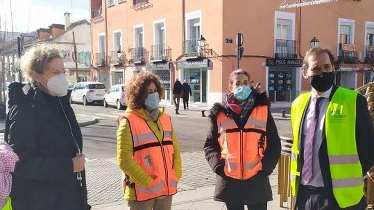 Aranjuez planta 58 árboles en la céntrica calle del Capitán