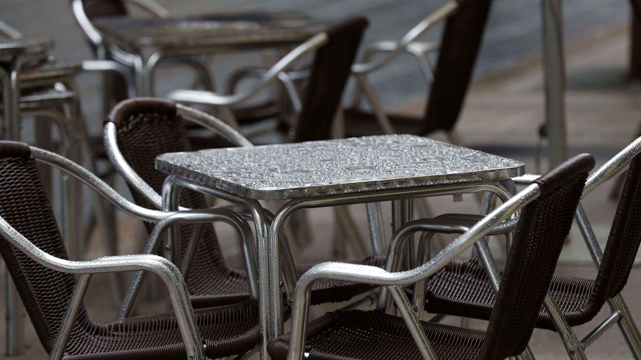 Imagen de una terraza vacía