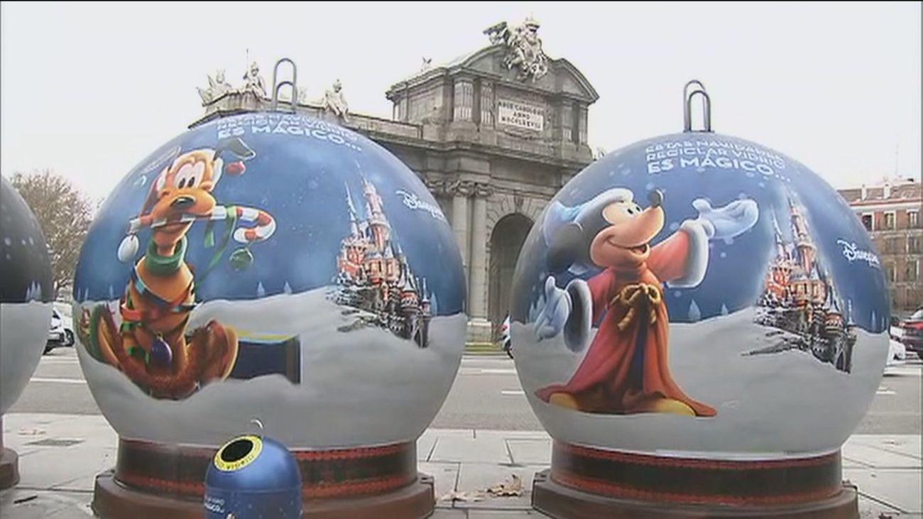 Mickey, Pluto y Daisy se implican con Ecovidrio para animar a reciclar a los más pequeños