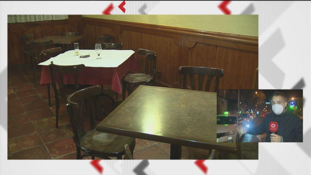 Sin cenas de empresa, hosteleros y taxistas están entre los más afectados en esta Navidad en Madrid